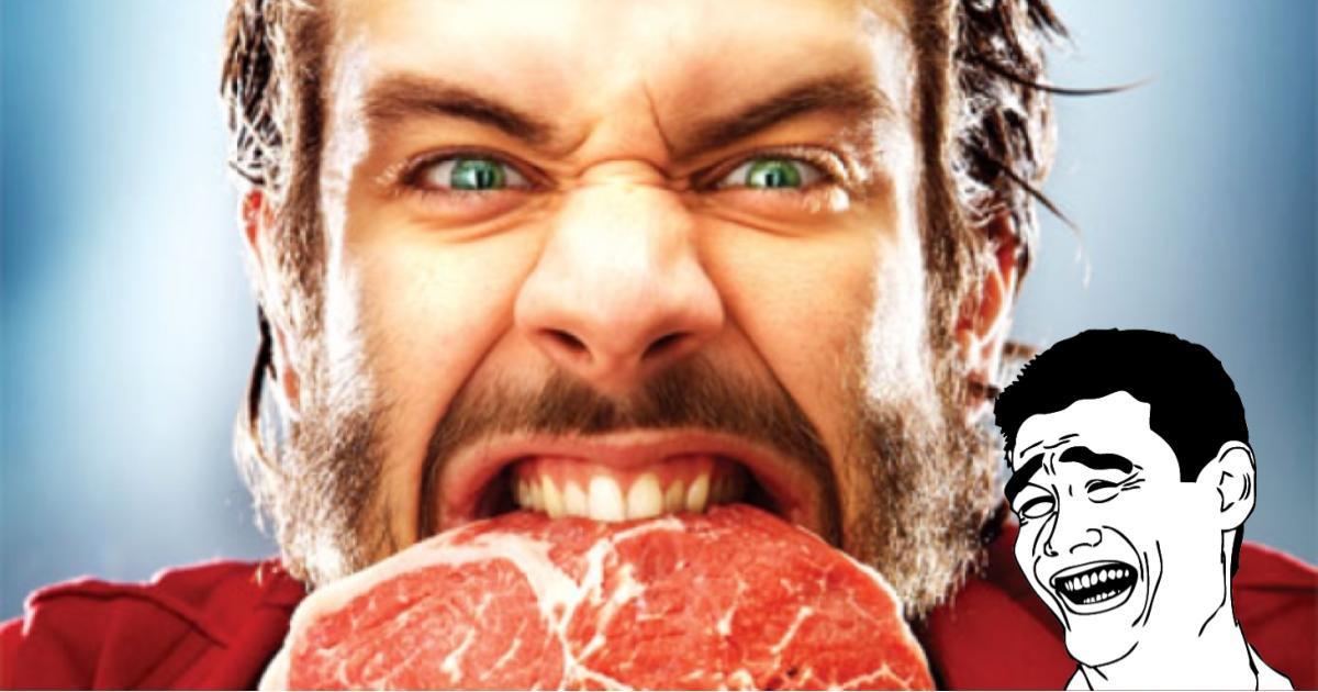 A los hombres les da miedo pedir comida vegana