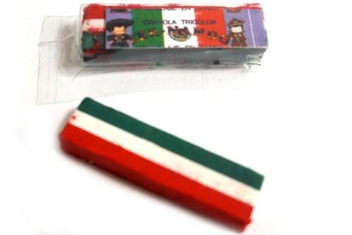 Crayón tricolor 15 de septiembre