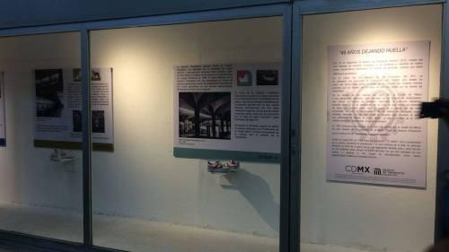 Exposición tenis Panam metro CDMX