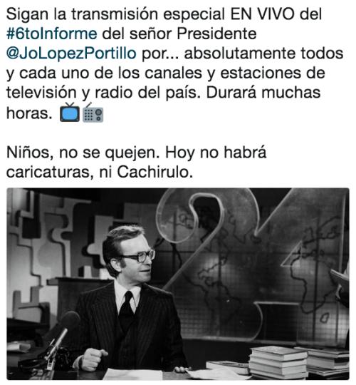 Memes sexto informe de gobierno EPN