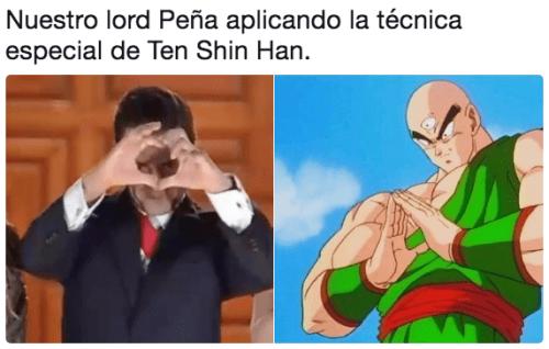 Memes corazón Peña Nieto