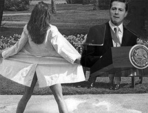 Memes de la cara de Peña Nieto en el sexto informe
