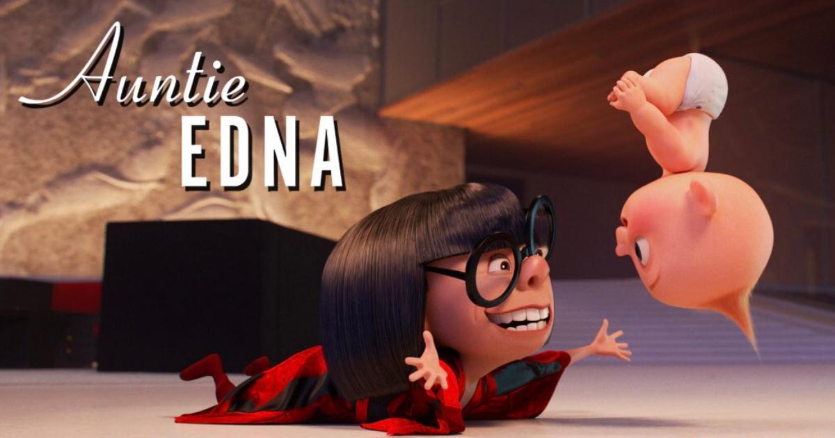Pixar Anuncia Corto Jack Jack Edna Moda, Los Increíbles 2, Edna Moda, Jack Jack, Brad Bird, Pixar