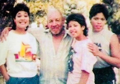 Selena Quintanilla irreconocible en foto de A.B.Quintanilla