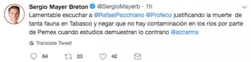Sergio Mayer es trolleado con Nino POlla