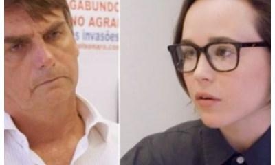 Presidente electo Brasil respuestas homofóbicas Ellen Page