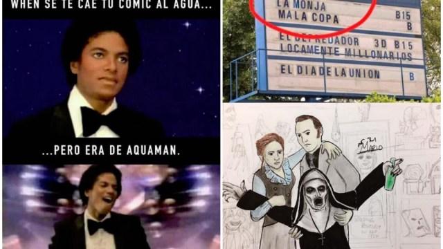 Memes Semana Memiza Monja Malacopa Michael Jackson