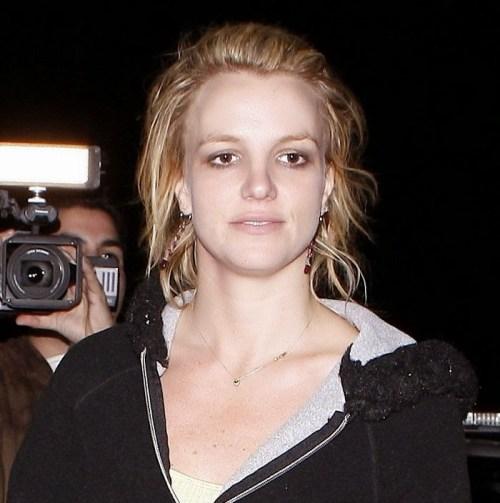 Britney Spears sin maquillaje