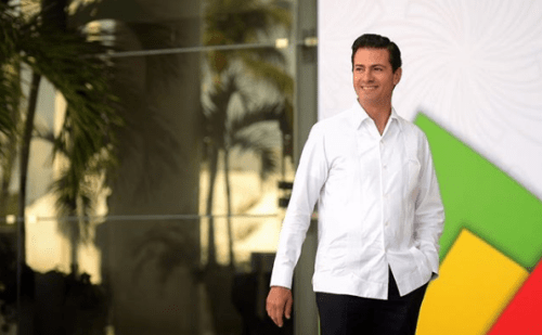 Enrique Peña Nieto declara su amor por Andres Manuel Lopez Obrador
