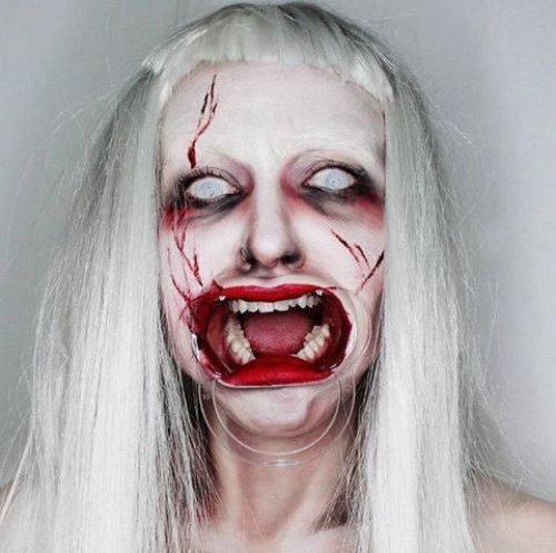 Maquillaje de la artista Julia Wunderlich