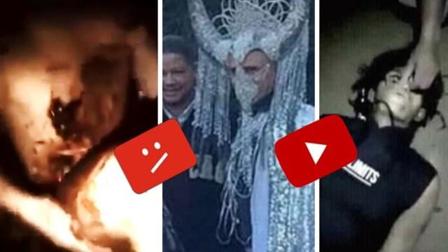 Videos más perturbadores que el reptiliano que tiró YouTube