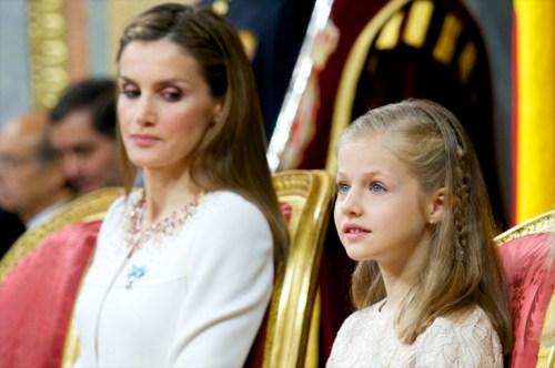 Así ha cambiado la princesa Leonor