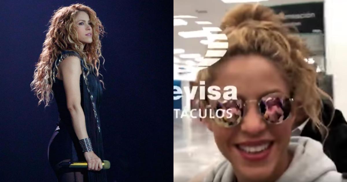 Shakira Llega A México, Shakira En El Aeropuerto, Shakira, Shakira CDMX, El Dorado World Tour, México
