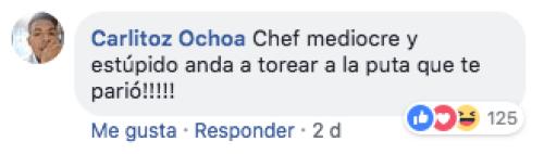 Critican al chef benito por promover la tauromaquia