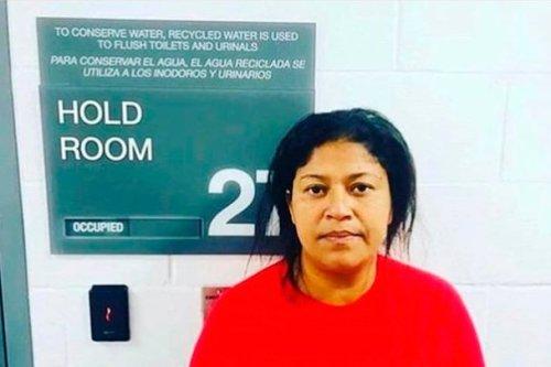 Detienen a migrante hondureña que se quejó de los frijoles