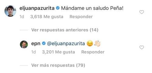 Pena Nieto se despide en Instagram