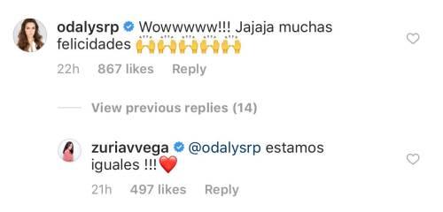 Famosos felicitan a Zuria Vega y Alberto Guerra por su nuevo bebe