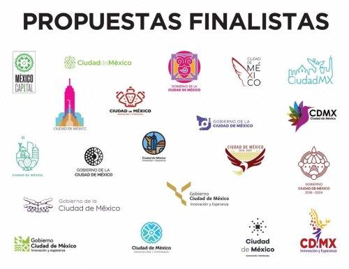 Llegan finalistas nuevo logotipo CDMX
