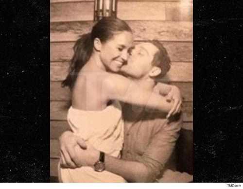 Meghan Markle en foto íntima con su ex