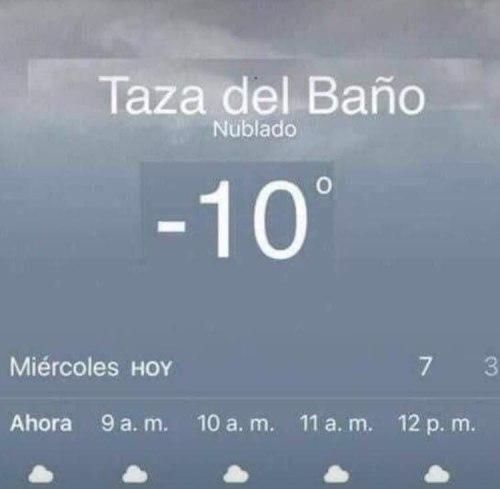 Memes del frío