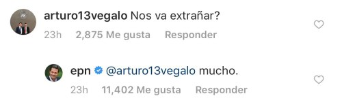 Enrique Peña Nieto se empieza a despedir en Instagram