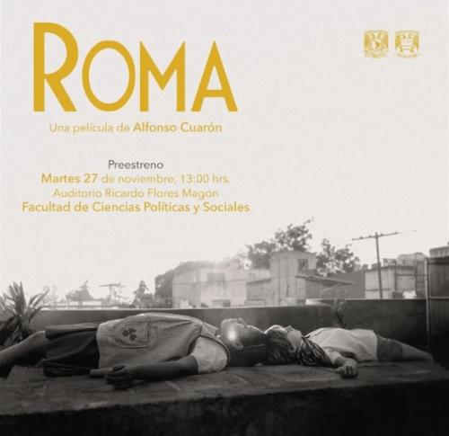 En qué cines proyectan Roma