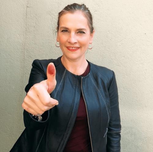 Los looks de Beatriz Gutiérrez Muller en la toma de posesión