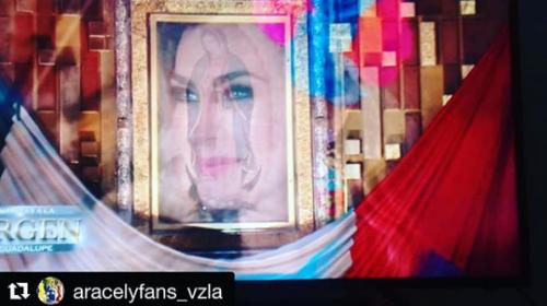 Critican a Aracely Arámbula por foto con la virgen de Guadalupe