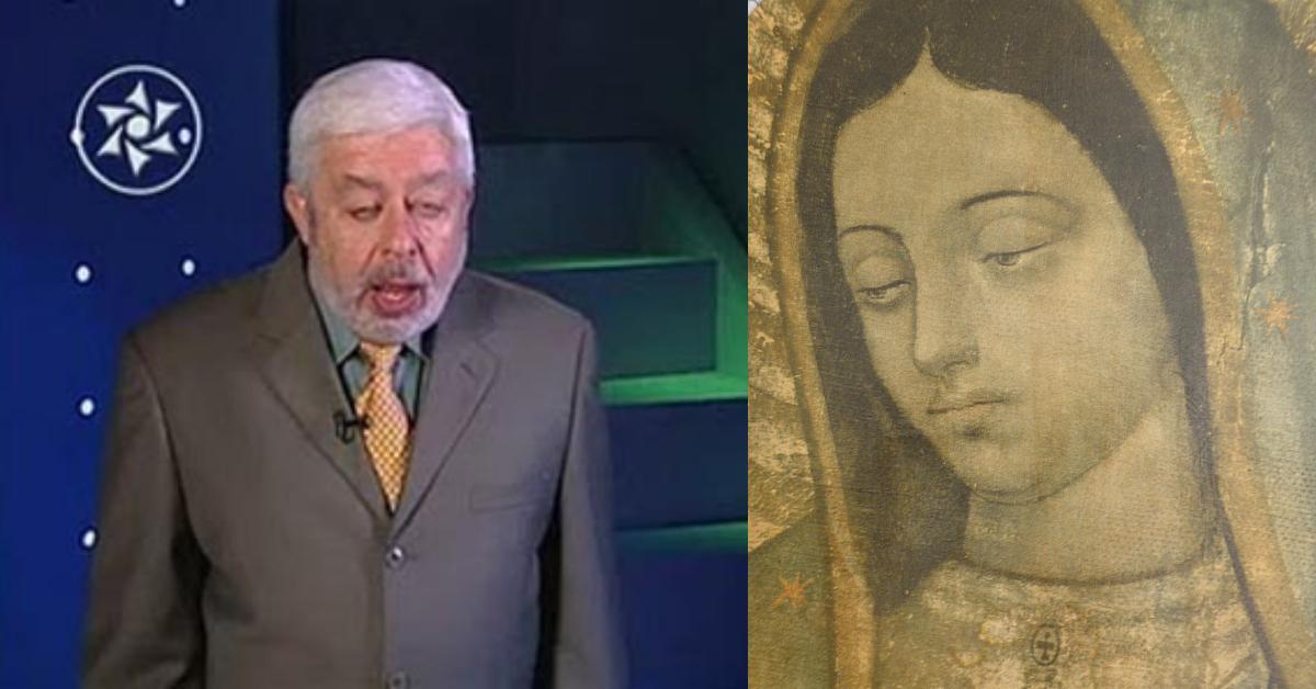 Jaime Maussan contó su encuentro con la Virgen de Guadalupe
