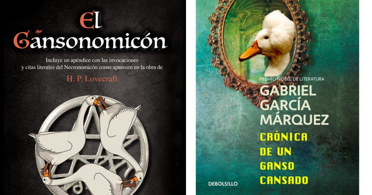 Los Libros Con Ganso, Libros Con Ganso, Ganso, Libros, Me Canso Ganso, Twitter