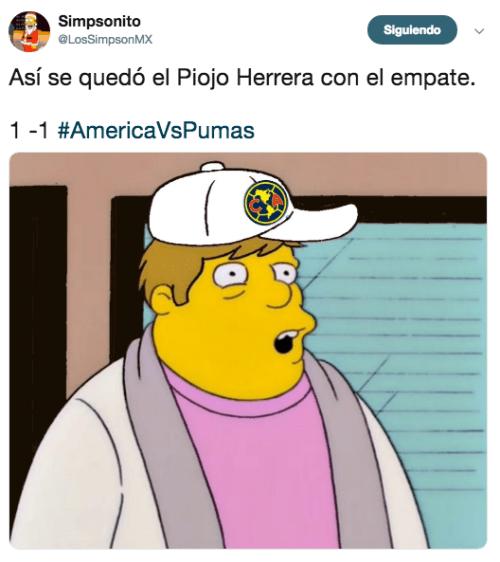 Memes del América Pumas 2018