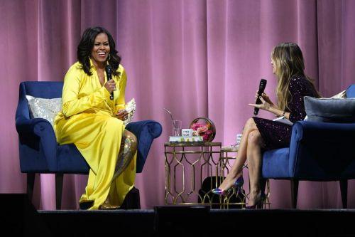 Michelle Obama sorprende con botas de 4 mil dólares