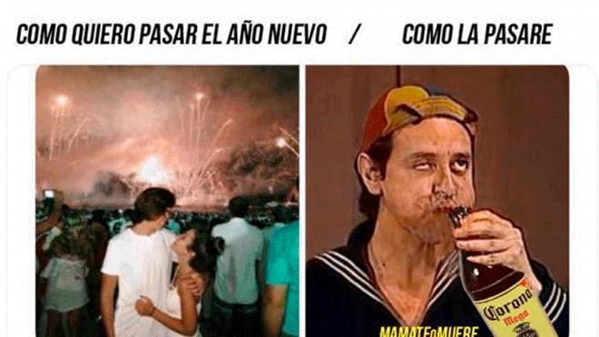Memes más reales que tus propósitos para recibir Año Nuevo