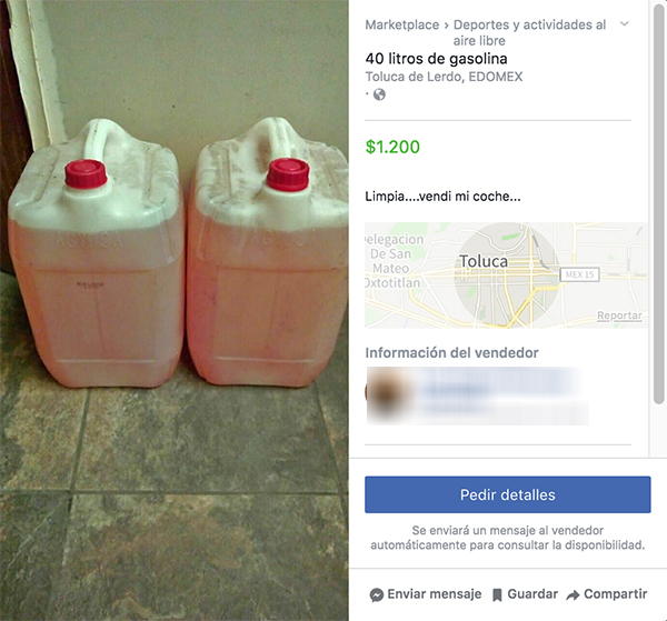 Ya puedes pedir gasolina desde Internet sin filas