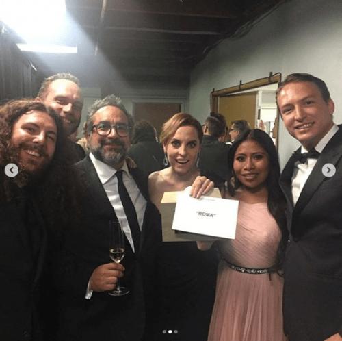 Así lució Yalitza Aparicio en los Critics Choice Awards