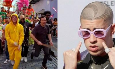 Bad Bunny Canta Mía En Puerto Rico, Bad Bunny Mía, Puerto Rico, Jimmy Fallon, The Tonight Show, José Feliciano