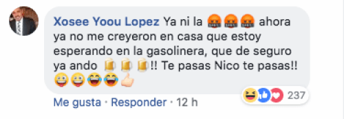 Organizan fiesta en gasolinera de Michoacán