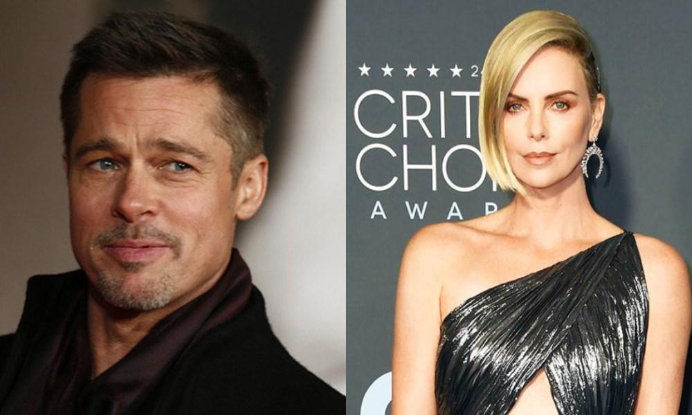 Brad Pitt Charlize Theron Novios, Brad Pitt Y Charlize Theron, Charlize Theron, Brad Pitt, Novios, Nueva Novia