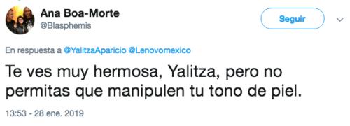 Foto de Yalitza Aparicio genera controversia por blanqueamiento