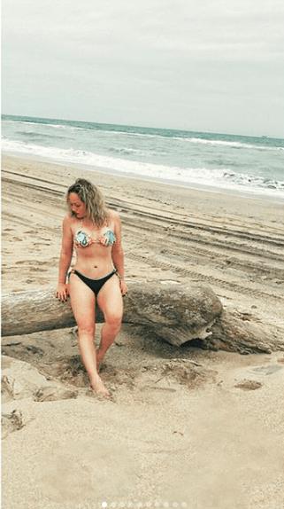 Érika Alcocer sorprendió con foto en bikini y 40 kilos menos
