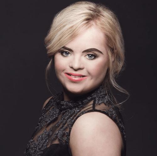 Kate Grant la primer modelo con sindrome de down