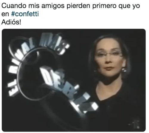 Memes de Confetti México