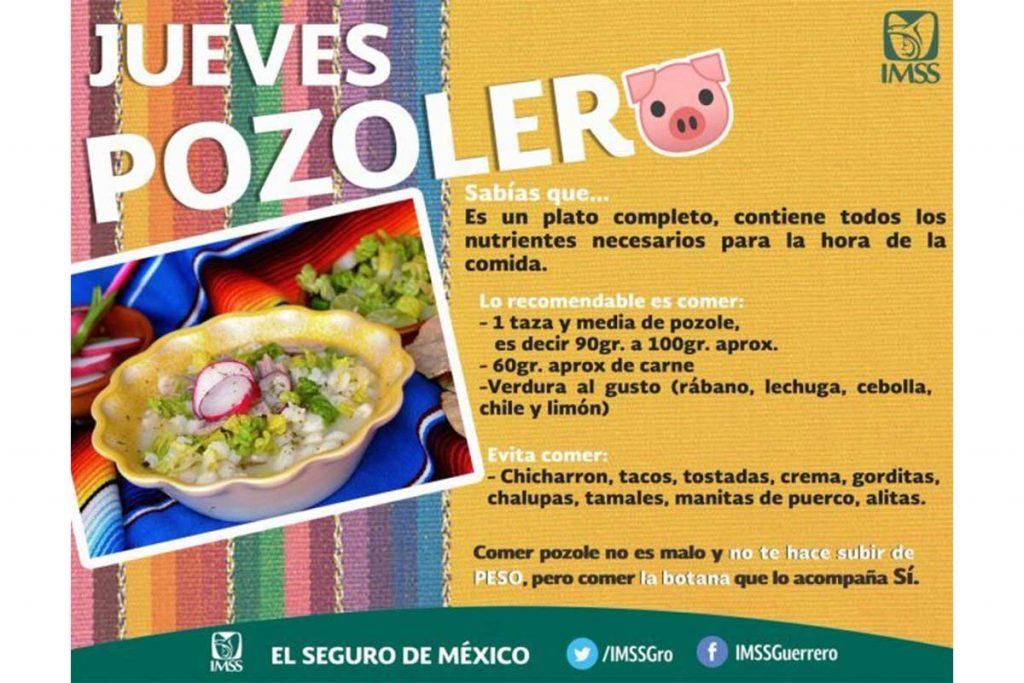 El pozole es una de las comidas más saludables según el IMSS