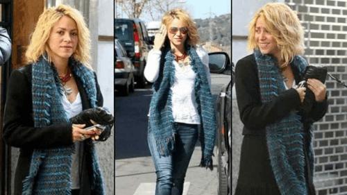 Shakira presume cambio de look