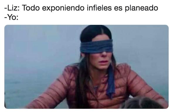 Memes de Exponiendo infieles de Badabún