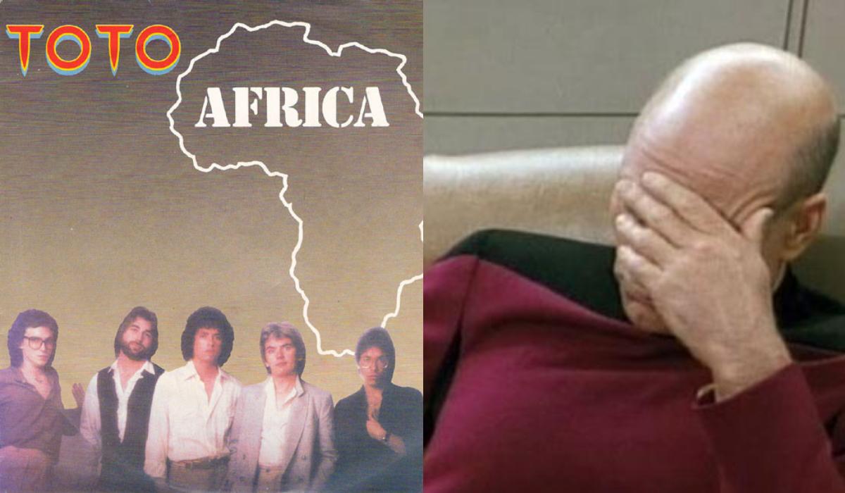 Africa de Toto sonará por siempre en el desierto africano