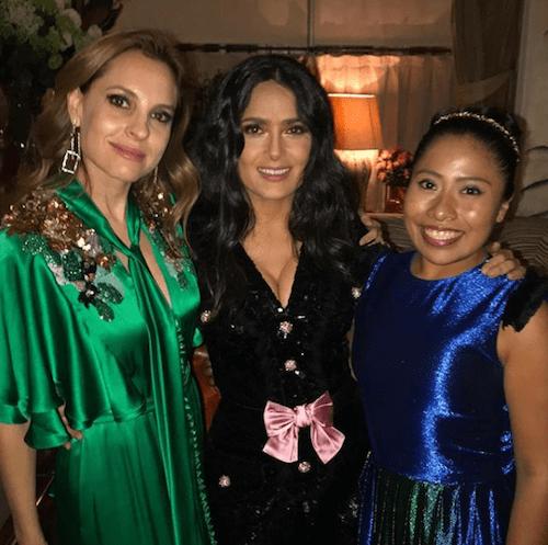 Foto Yalitza Aparicio Salma Hayek 9 Febrero 2019