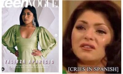 Yalitza se convierte en la portada de Teen Vogue