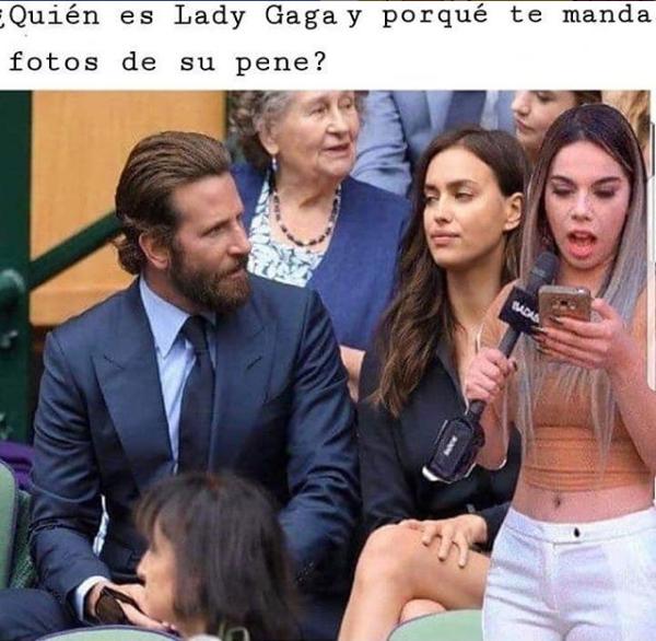Lady Gaga y Bradley Cooper en los Oscar