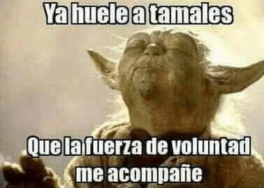 Memes de tamal para el Día de la Candelaria